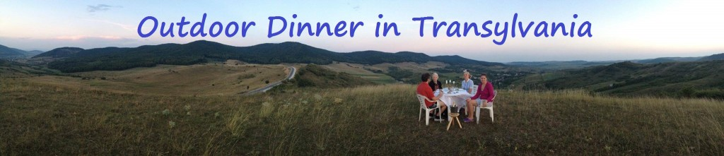 Outdoor Dinner in Transylvania
