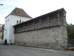 Bistritz medieval city