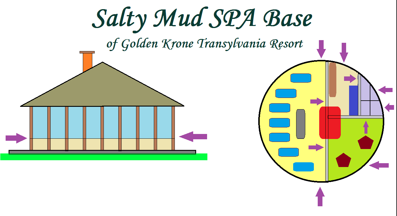 Salty Mud SPA Base of Golden Krone Transylvania Resort