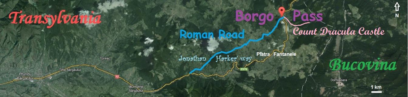 Dracula Castle - Borgo Pass