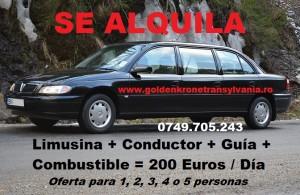Conductor de Alquiler en Rumania