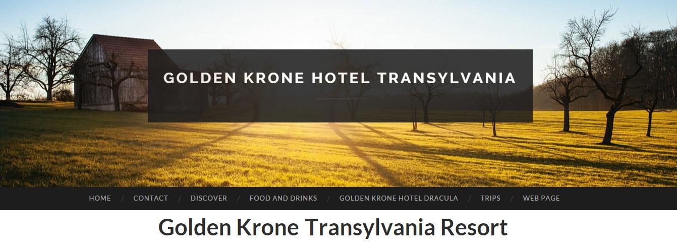 Golden Krone Hotel Bistrita
