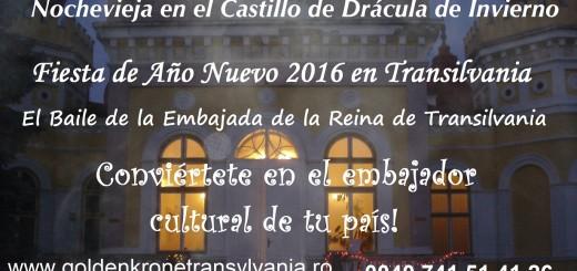 Fiesta de Año Nuevo 2016 en Transilvania: Nochevieja 2015/2016