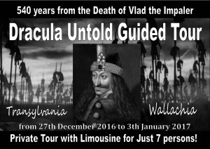Dracula Untold Guided Tour
