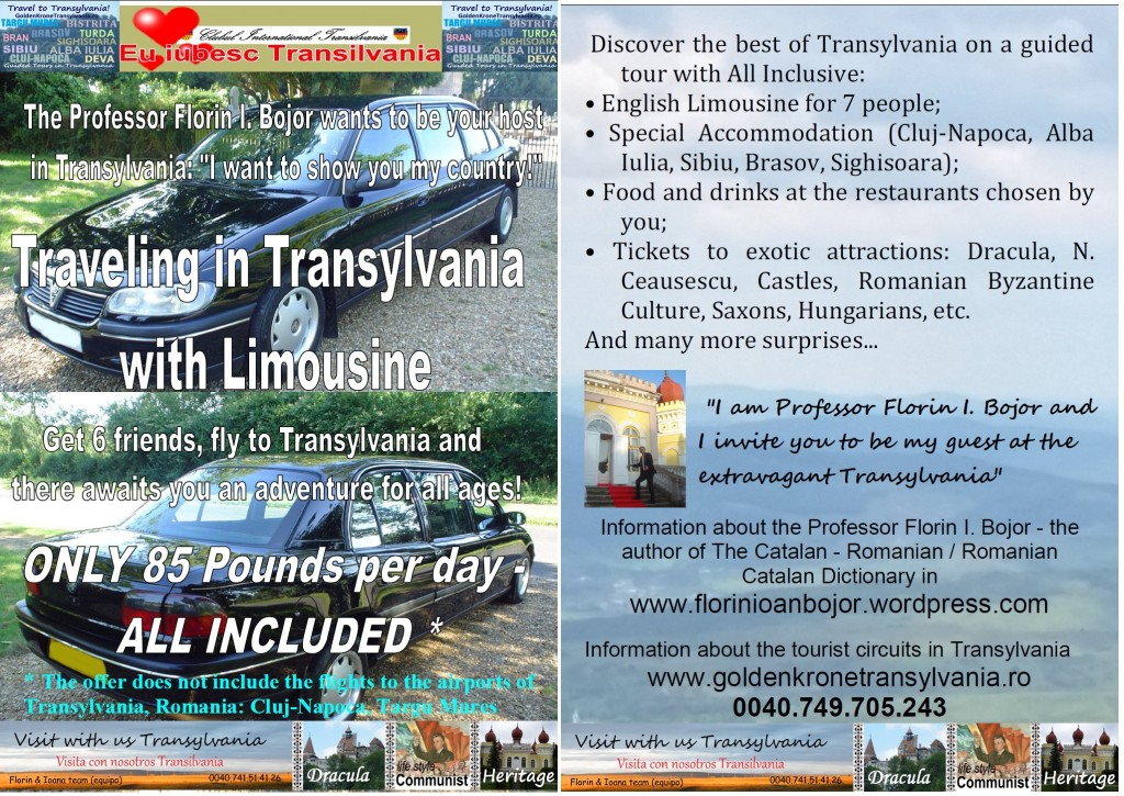 Travel in Transylvania with Limousine