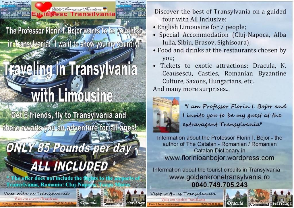 Travel in Transylvania with Limousine