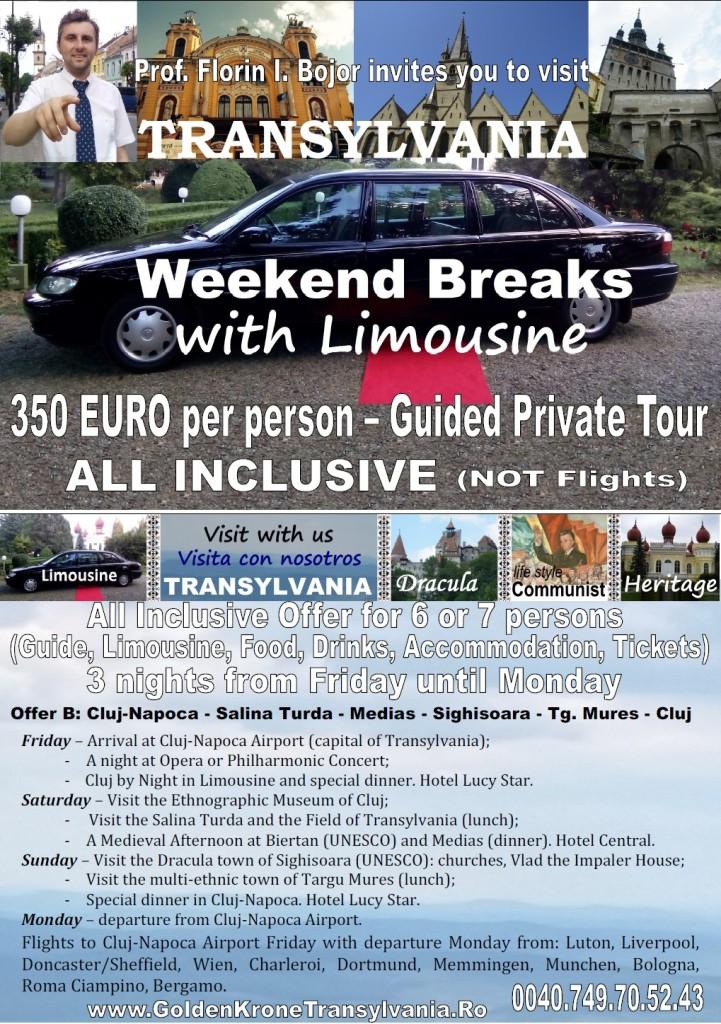 Weekend Breaks Transylvania
