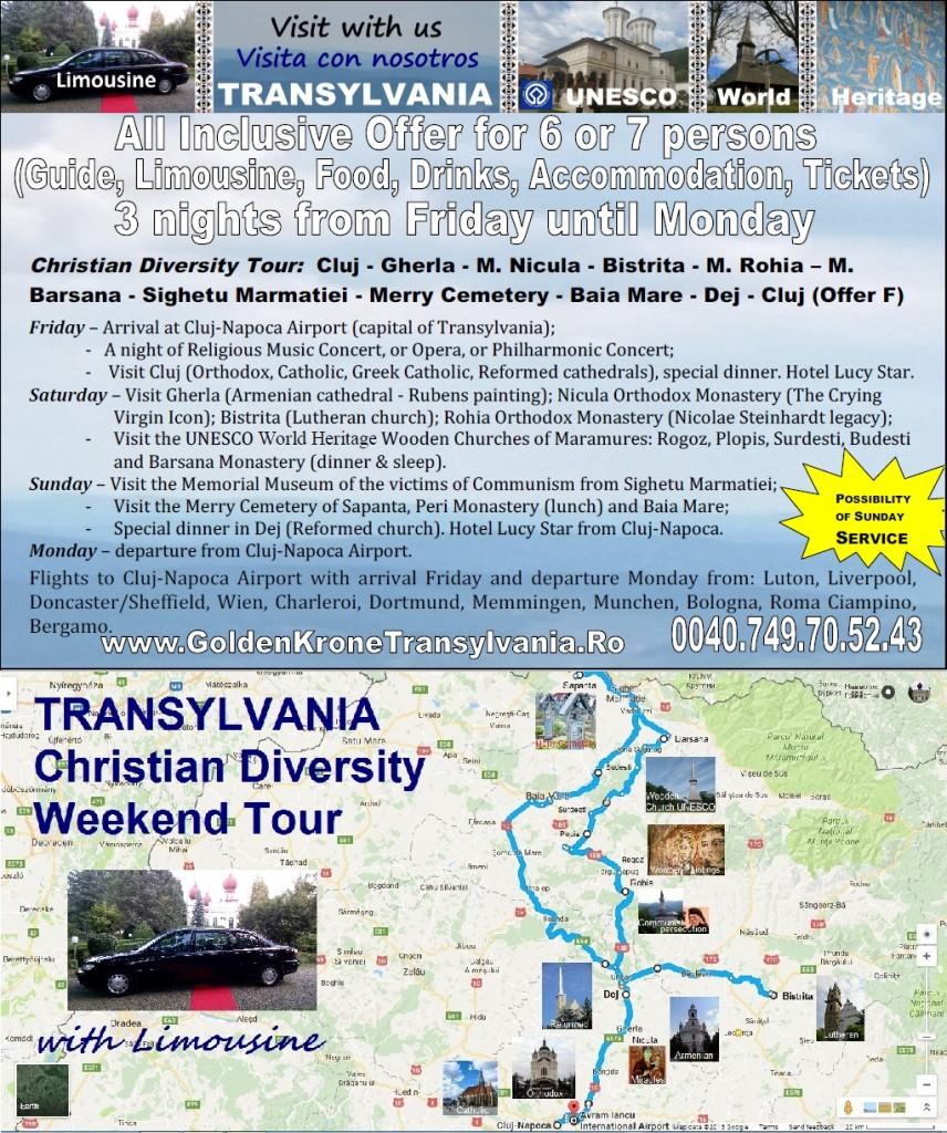 Christian Tour Transylvania