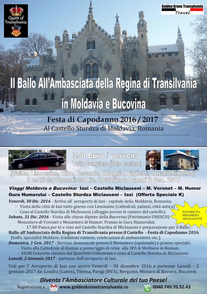 Festa di Capodanno 2016 - 2017 - Ballo Transilvania