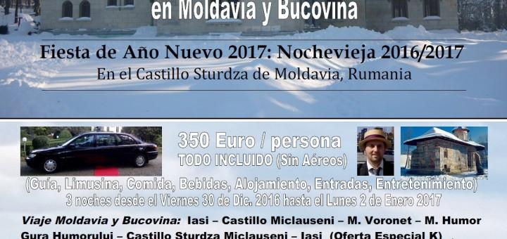Fiesta de Año Nuevo 2017 - Nochevieja 2016-2017 Transilvania