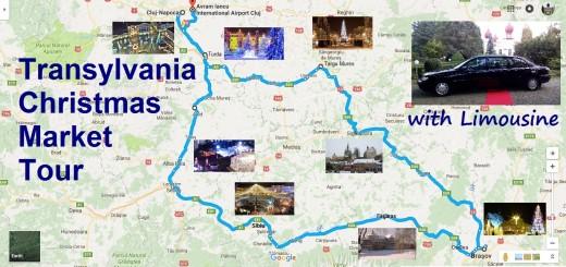 transylvania christmas market tour