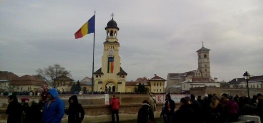 Alba Iulia - The 1st of December National Day of Romania & opening the Christmas Market