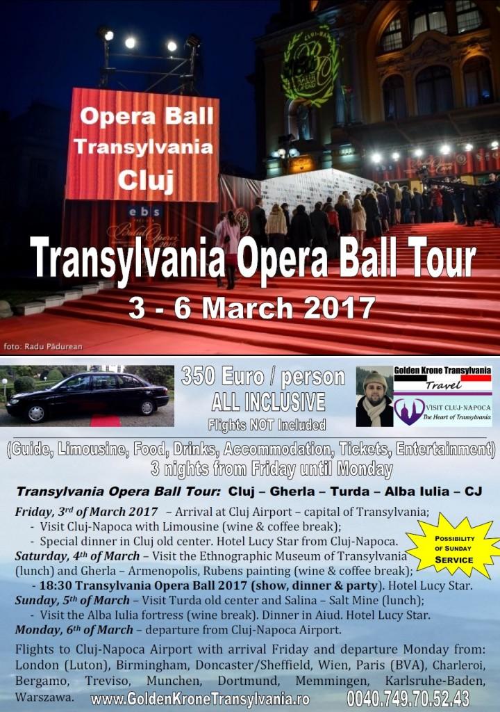 Transylvania Opera Ball Tour