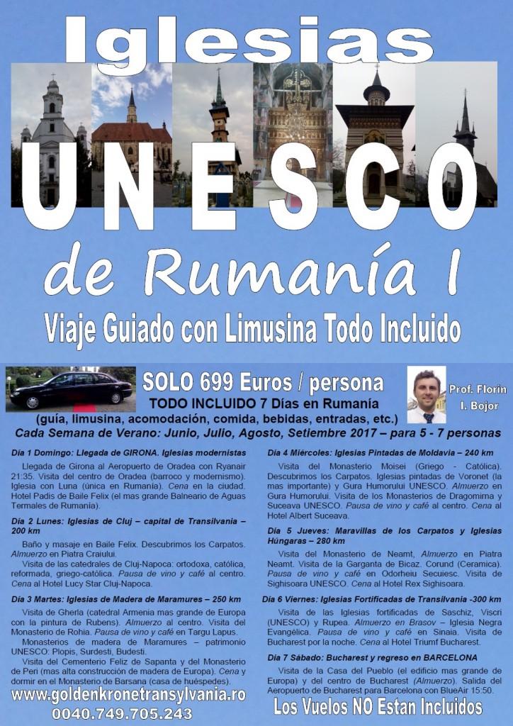 Viaje Iglesias de Rumania