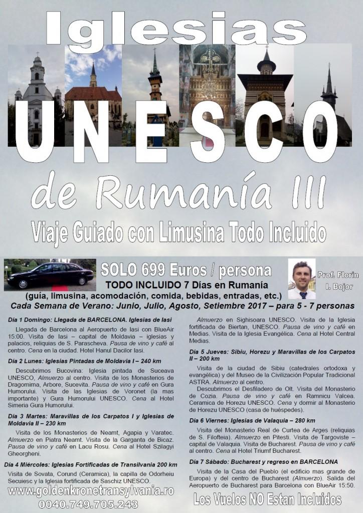 Viaje Iglesias y Monasterios de Rumania