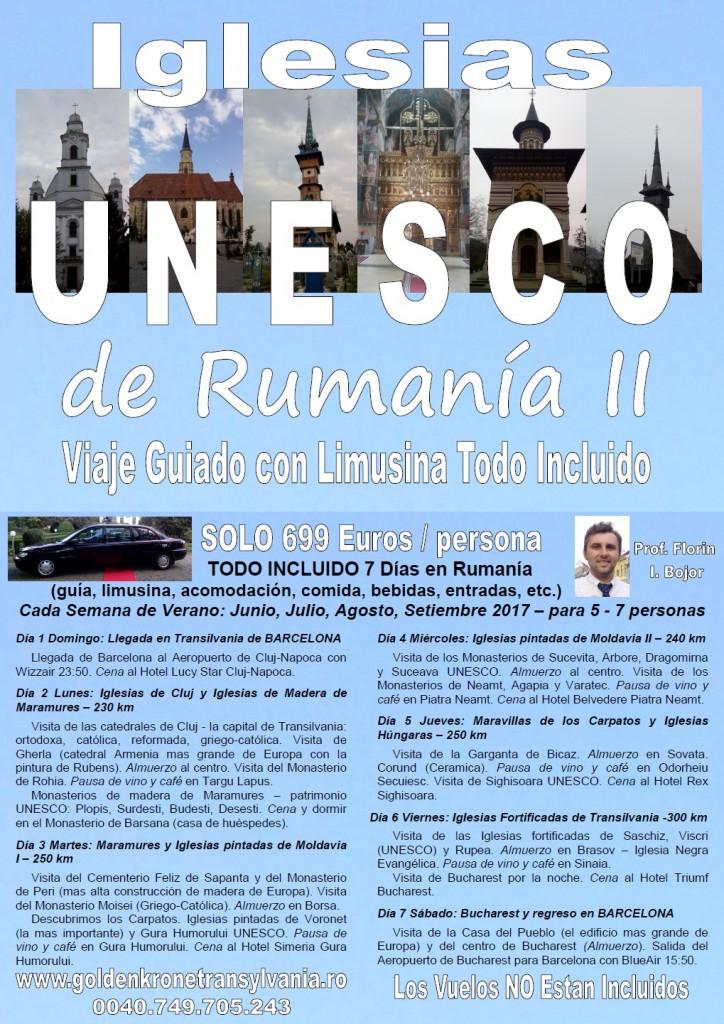 Viaje Monasterios de Rumania