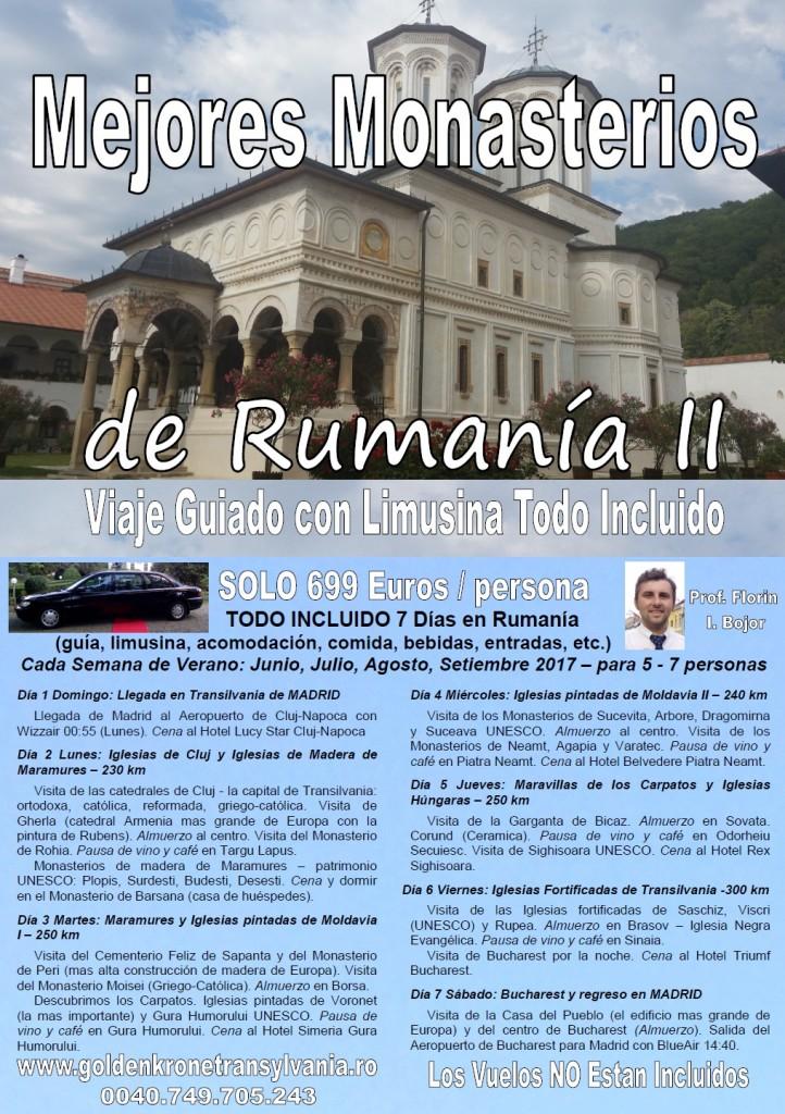 Mejores Monasterios de Rumania
