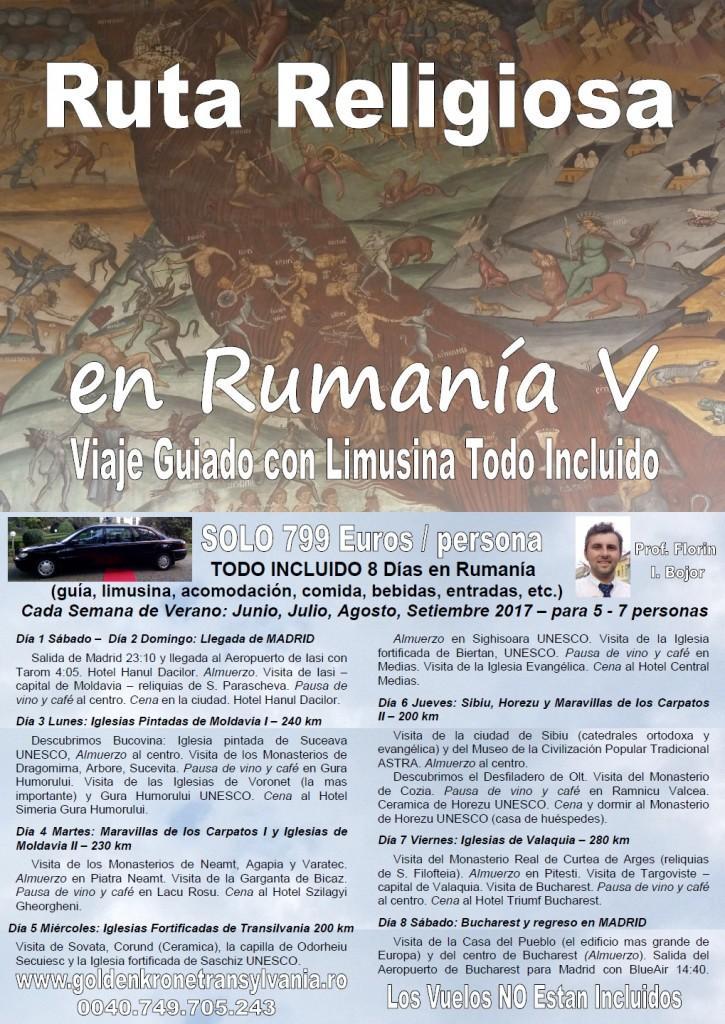 Ruta Religiosa en Rumania