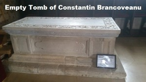 Empty Tomb of Constantin Brancoveanu