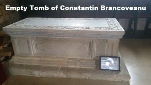 Empty Tomb of Constantin Brancoveanu