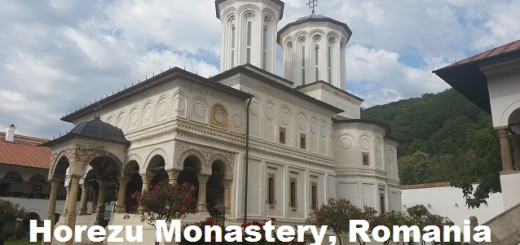 Horezu Monastery Romania