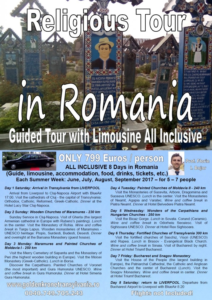 Religious Tour in Romania