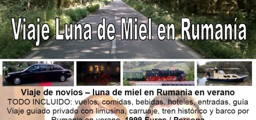 Viaje de novios - luna de miel Rumania
